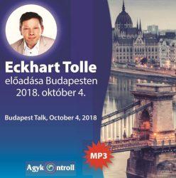 Eckhart Tolle Budapesten (MP+-as CD)