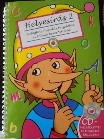 Tanulj helyesen írni Firka manóval 2- Könyv + CD 8-9 éveseknek