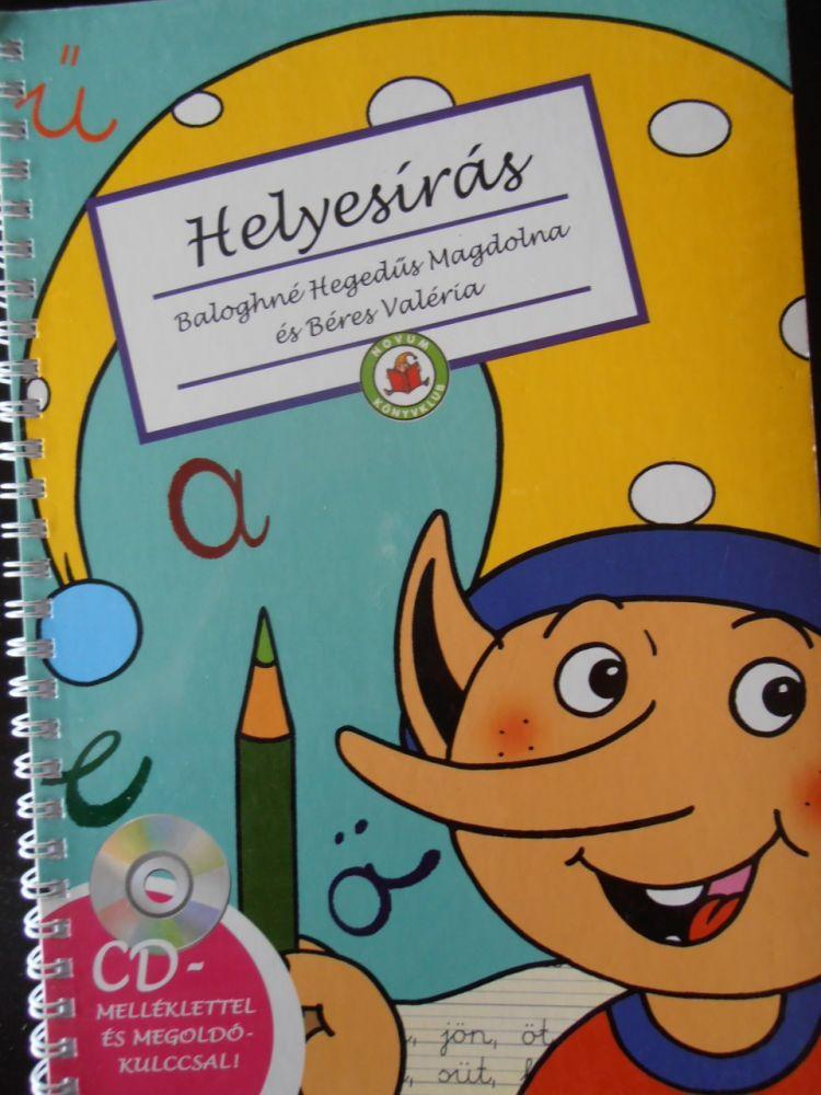 Helyesírás Firka manóval - Könyv + CD 6-8 éveseknek