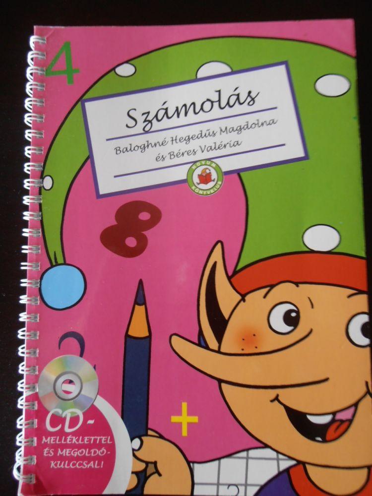 Számolás Firka manóval - Könyv + CD 6-8 éveseknek