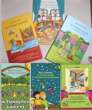 Gyerek csomag 7 - Titoktündér meséskönyvek mint az 5 db egy csomagban!***